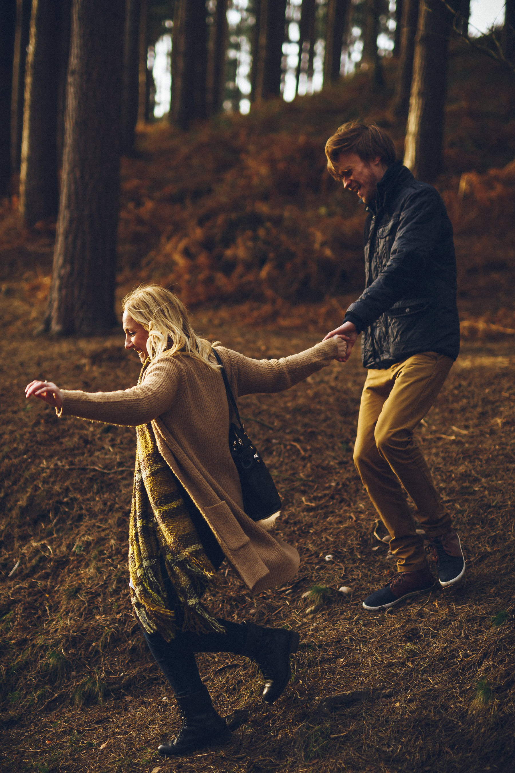 Cannock Chase Engagement Shoot Archives Gareth Newstead