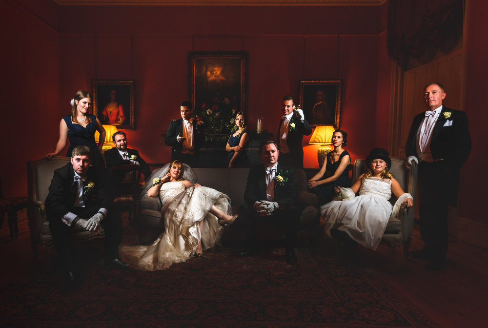 wedding photography holme pierrepont hall