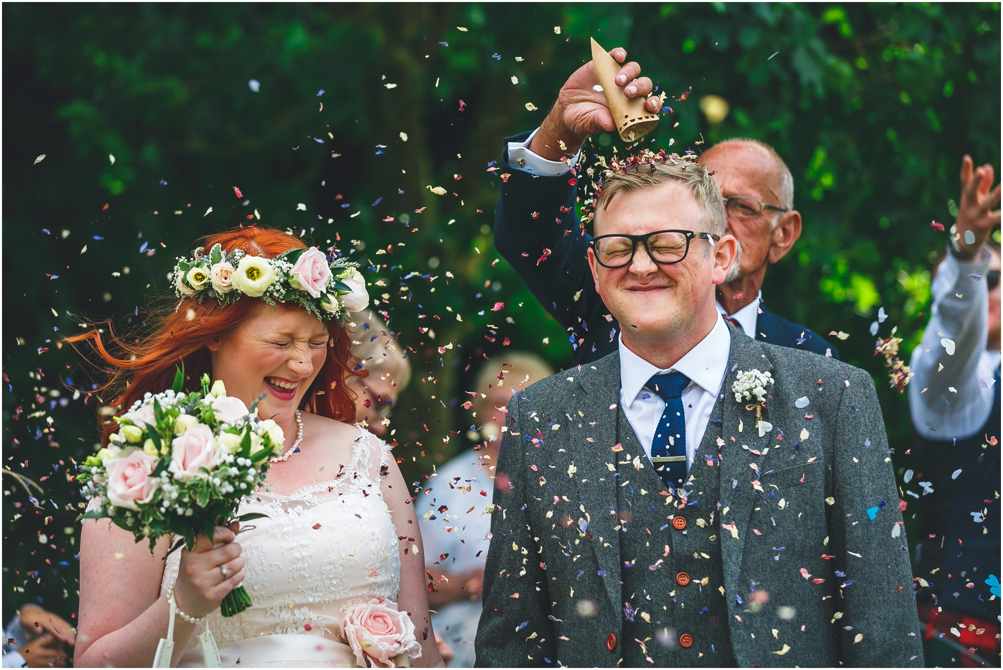 Jamie & Tina Newton House Barn Wedding Photography