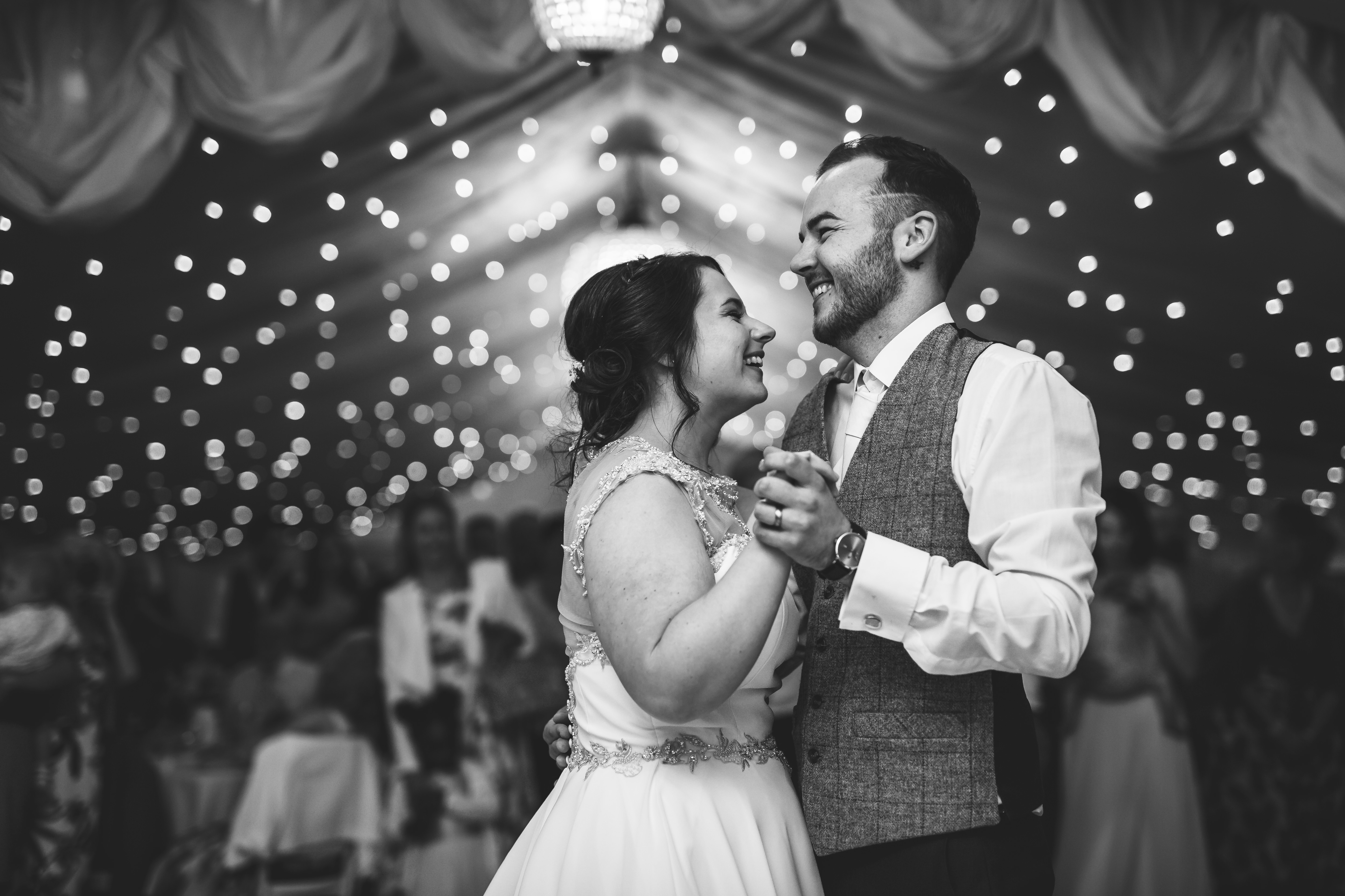 bride and grooms first dance at Moxhull Hall Wedding Photography