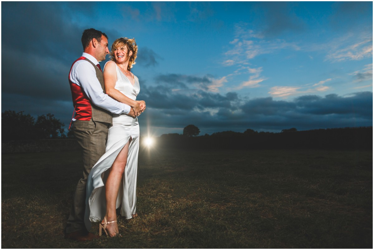 DIY Farm Wedding Bride & Groom portraits