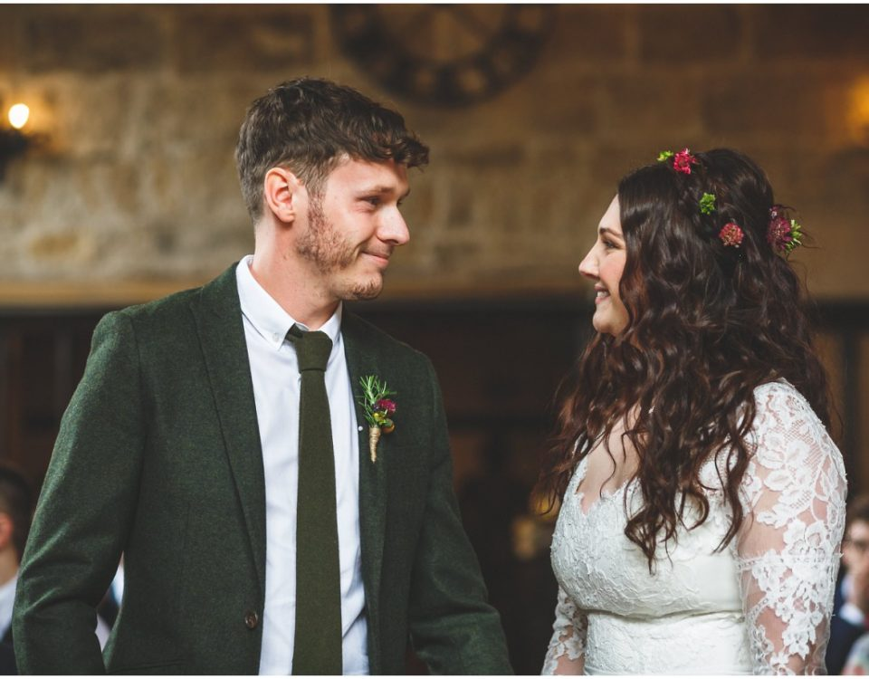 bride and groom newlywed mr and mrs rustic boho wedding