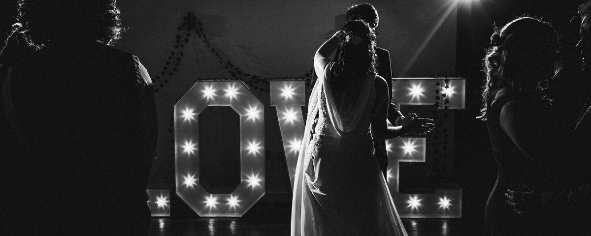 hothorpe hall wedding photography bride and groom first dance