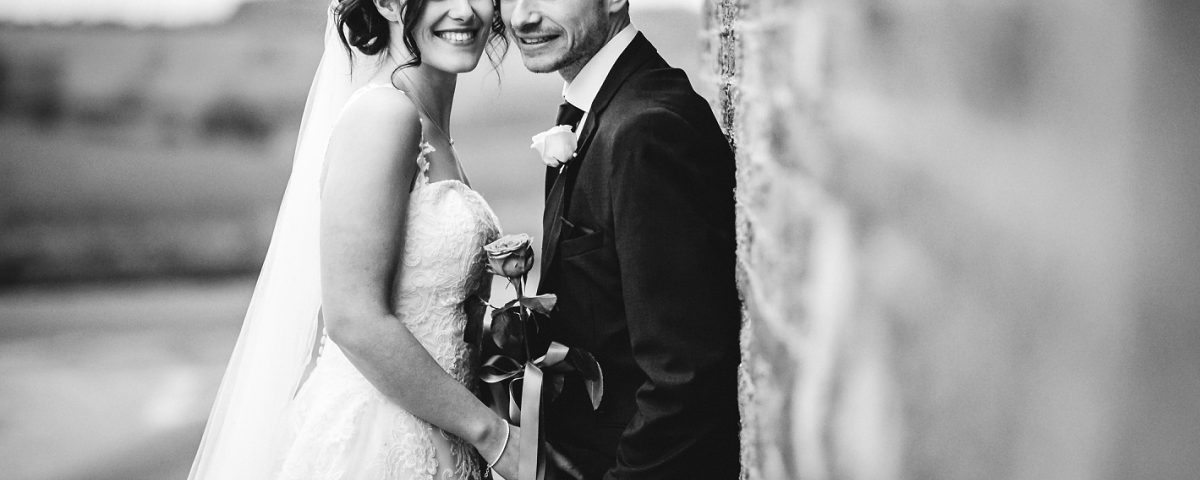 black and white bride and groom donington park farmhouse wedding derbyshire wedding photography